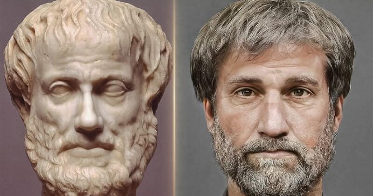 Τα μεγάλα πρόσωπα των αρχαίων Ελλήνων ζωντανεύουν μέσω τρισδιάστατης παρουσίασης (Βίντεο)