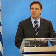 Η ενημέρωση των συντακτών από τον Κ. Εκπρόσωπο, Γιώργο Πεταλωτή.