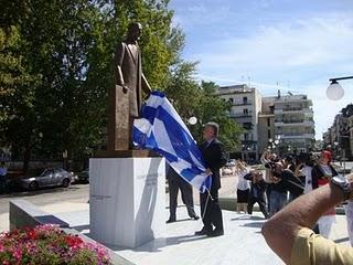 Ο δωρητής του πάρκινγκ των 4ων Μαρτύρων, Ιωάννης Παντελιδάκης, ιατρός, από τα Τρίκαλα.