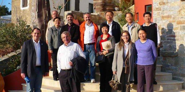Φιλοξενία Κινέζικης αντιπροσωπείας στο Γεωπάρκο του Ψηλορείτη