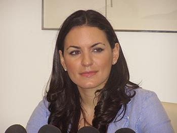 Η Όλγα Κεφαλογιάννη στο 21ο συνέδριο του Ελληνο-Αμερικανικού Εμπορικού Επιμελητηρίου