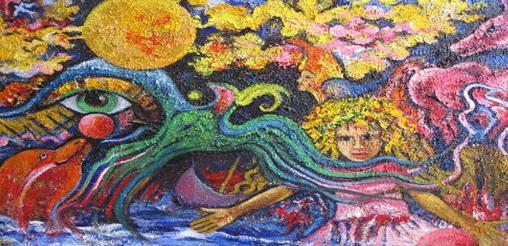 Έκθεση Ζωγραφικής της Σοφίας Ανδρουλιδάκη  «ΜΕΣΑ ΑΠΟ ΤΑ ΟΝΕΙΡΑ»