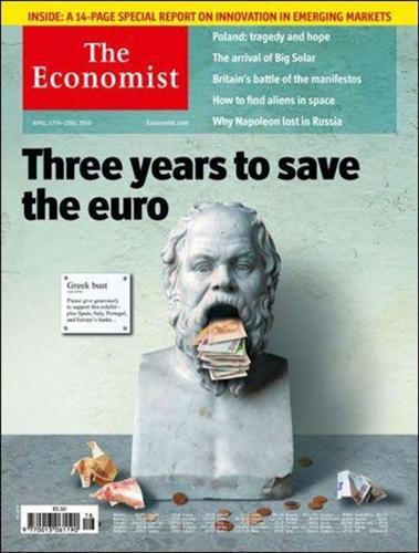 Economist: Ελλάδα, Πορτογαλία και Ιρλανδία έχουν χρεοκοπήσει