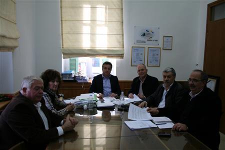Υπογράφτηκε η σύμβαση για το Δίκτυο αποχέτευσης Ανωγείων
