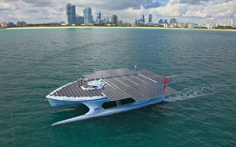 Στη Ζάκυνθο το μεγαλύτερο ηλιακό σκάφος του κόσμου