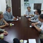 Απο τη συνάντηση με επιχειρηματίες εισαγωγείς τροφίμων