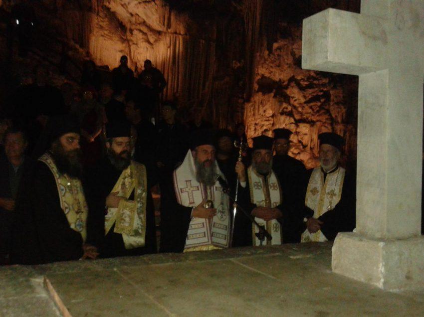 193η Επέτειος Ολοκαυτώματος Σπηλαίου Μελιδονίου