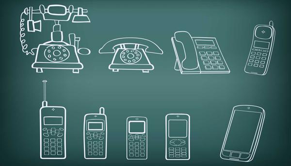 Η εξέλιξη του τηλεφώνου τον τελευταίο αιώνα