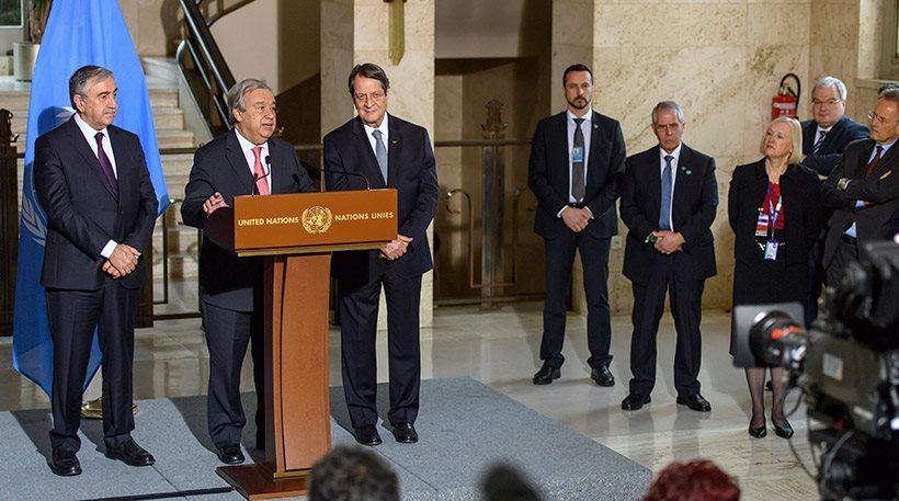 Κυπριακό: Στις 18 Ιανουαρίου η συνέχεια της Διάσκεψης σε επίπεδο τεχνοκρατών