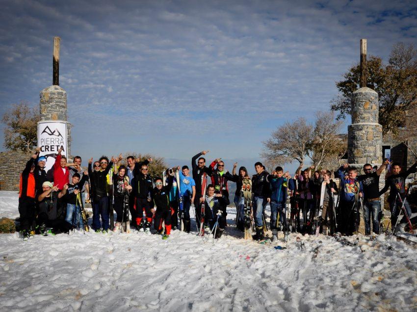 Εκπαιδευτικά σεμινάρια σκι για παιδιά γυμνασίων