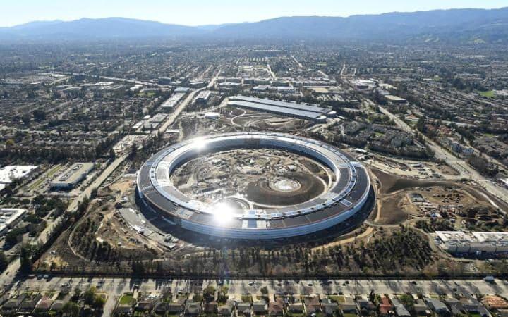 Ανοίγουν τον Απρίλιο τα νέα γραφεία της Apple