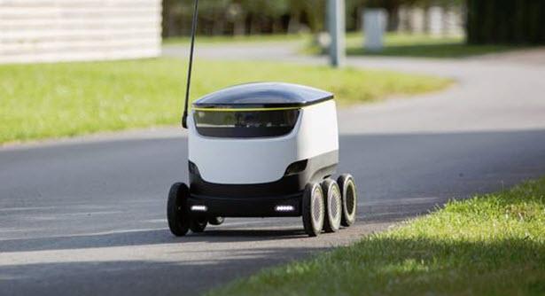 Delivery με ρομπότ θα δοκιμάσουν δύο αμερικανικές εταιρείες