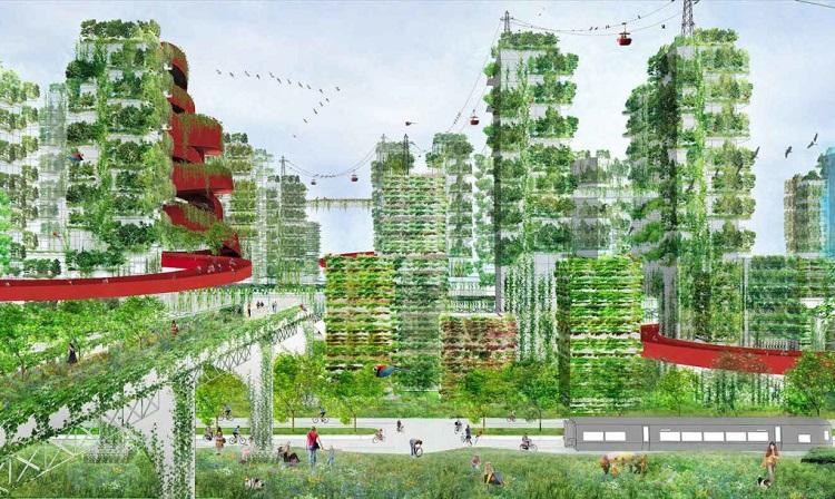Πράσινη πόλη στην Κίνα θα αντιμετωπίσει την ρύπανση