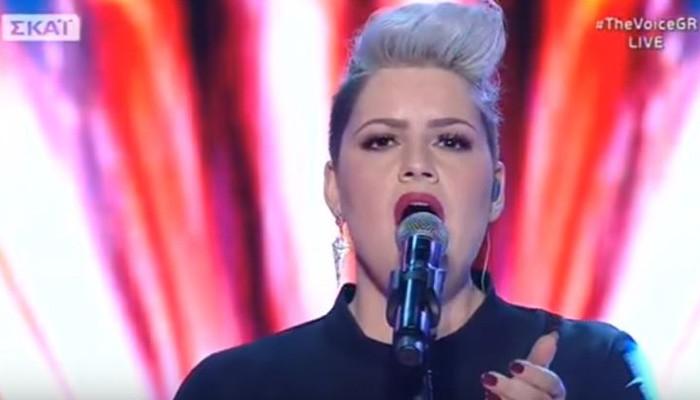 Κασσιανή Λειψάκη:The show must go on και στον τελικό του The Voice