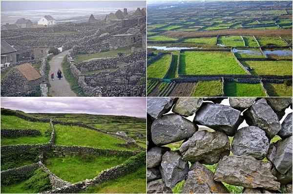 Πέτρινα τοιχία… ζωγραφίζουν τα χωράφια της Ιρλανδίας