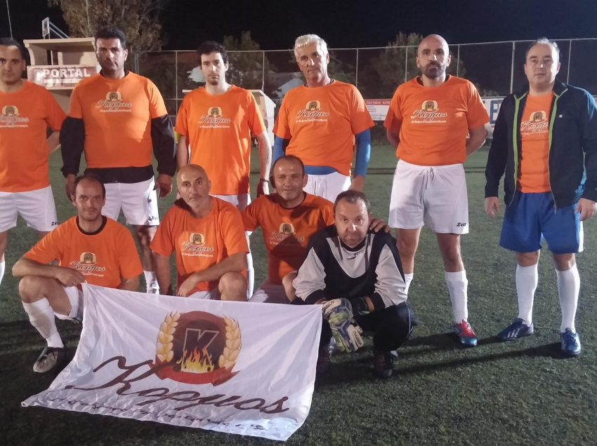 Αποτελέσματα 4ης αγωνιστικής 8ου πρωταθλήματος ποδοσφαίρου παλαίμαχων 8×8