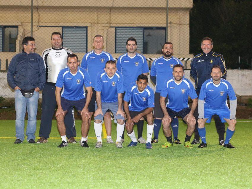 Αποτελέσματα 1ης Αγωνιστικής 8ου Πρωταθλήματος Ποδοσφαίρου Παλαιμάχων 8×8