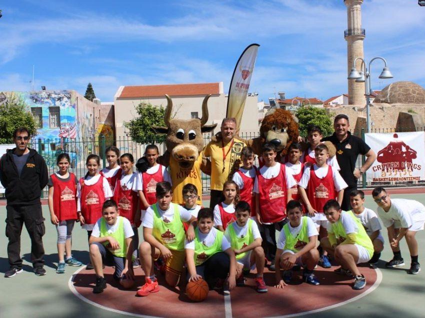 Έπεσε η αυλαία του 3ου τουρνουά «Cretan Kings Assist Basketball»