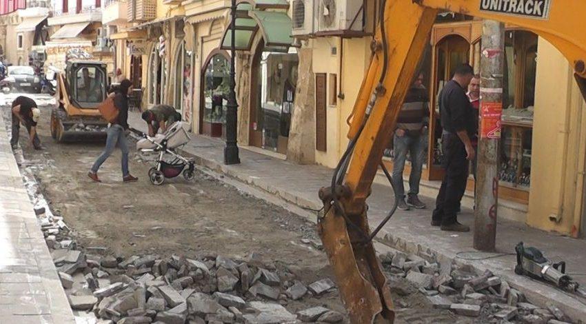 Ρέθυμνο: Γκρίνια για τα ανύπαρκτα έργα, αλλά και για τα έργα με ρυθμούς χελώνας