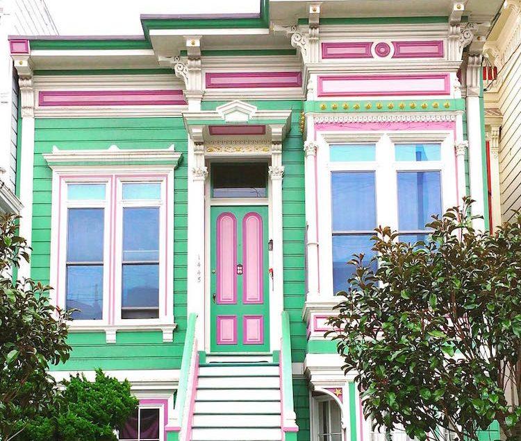 Τα πολύχρωμα σπίτια του Σαν Φρανσίσκο!