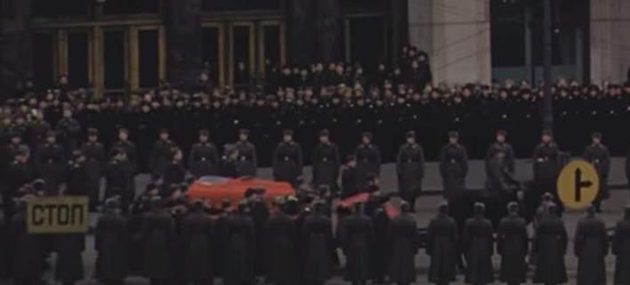 Για πρώτη φορά στο φως: Εγχρωμο βίντεο-ντοκουμέντο από την κηδεία του Ιωσήφ Στάλιν