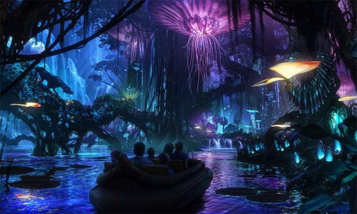 Η πρώτη βόλτα στο θεματικό πάρκο Avatar είναι εντυπωσιακή!