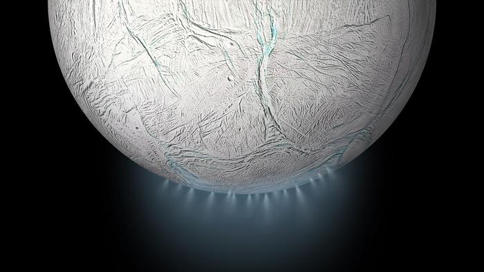 NASA: Όλα τα απαραίτητα συστατικά για την ανάπτυξη ζωής διαθέτει ο Εγκέλαδος, δορυφόρος του Κρόνου
