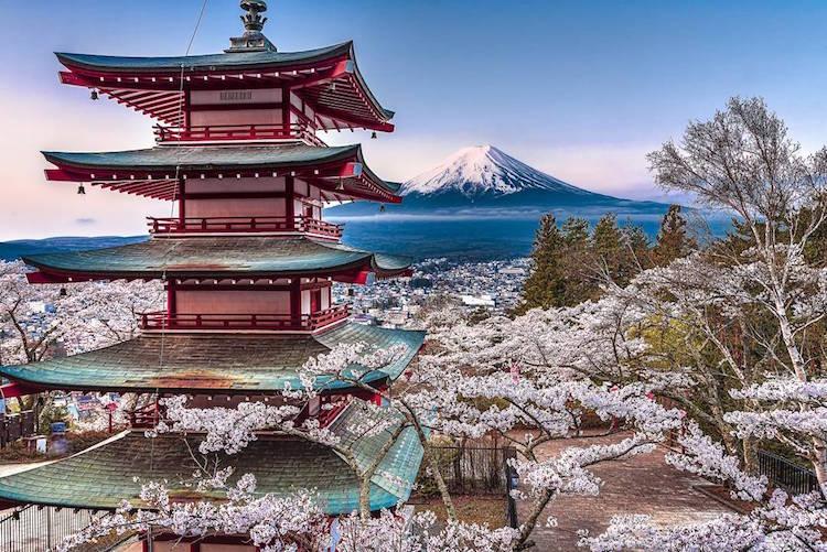 Φωτογραφίες από τη φύση της Ιαπωνίας μοιάζουν με ακουαρέλες