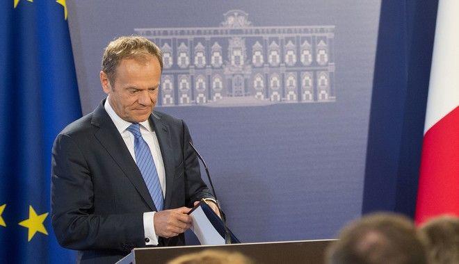 Τουσκ: Η ΕΕ των '27' οφείλει να παραμείνει ενωμένη