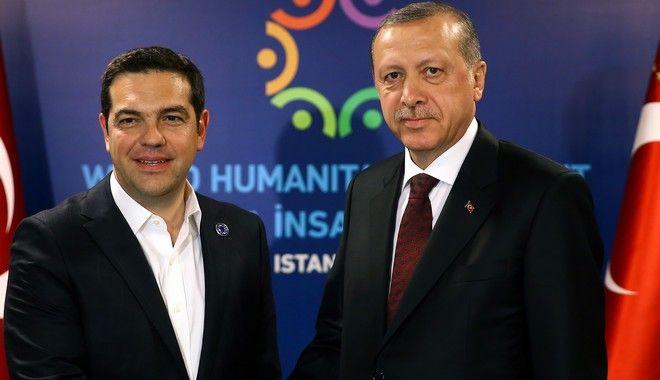 'Ψήνεται' ραντεβού Τσίπρα – Ερντογάν
