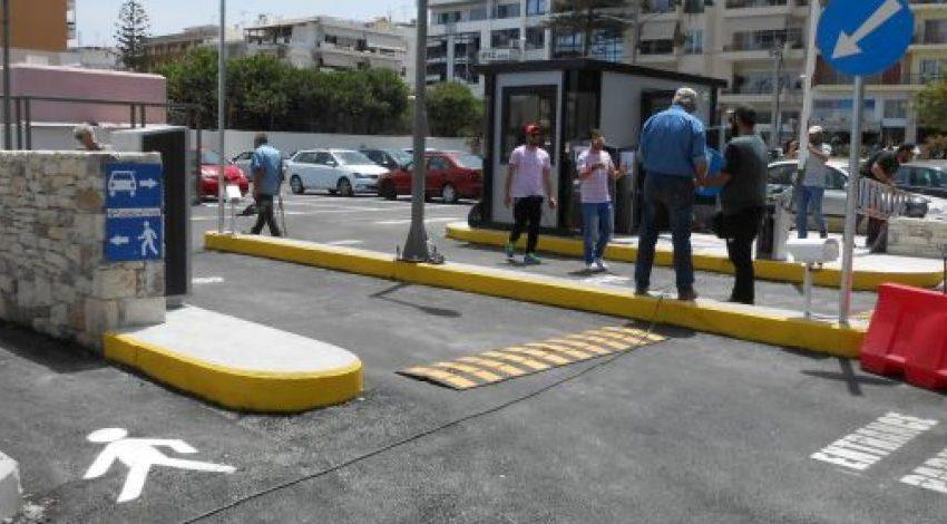 Ρέθυμνο: Άλλαξε η όψη του κέντρου, λόγω του ανανεωμένου πάρκινγκ