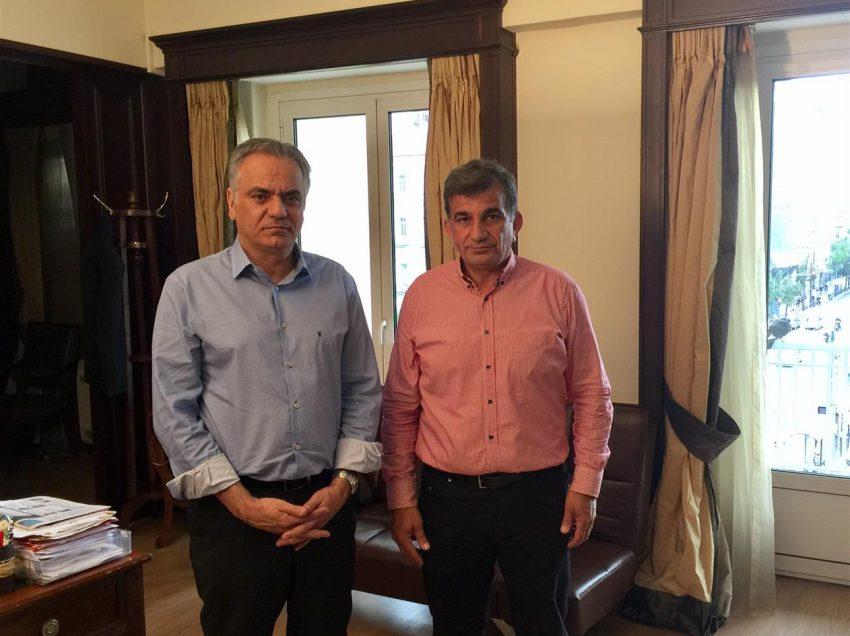 Συνάντηση Δημάρχου Αμαρίoυ με τον Υπουργό Εσωτερικών