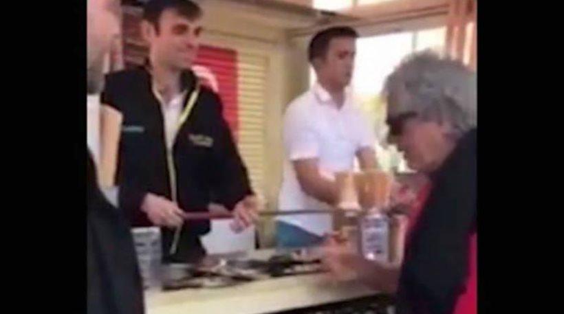 Θύμα Τούρκου παγωτατζή ο Τάκης Τσουκαλάς (Video)