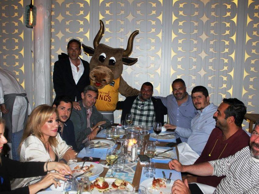 Δείπνο σε «ζεστό» κλίμα για το Ρέθυμνο Cretan Kings