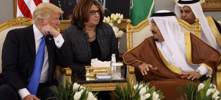 Συμφωνία-μαμούθ ύψους 350 δισ. δολ. για πώληση όπλων των ΗΠΑ στη Σ. Αραβία