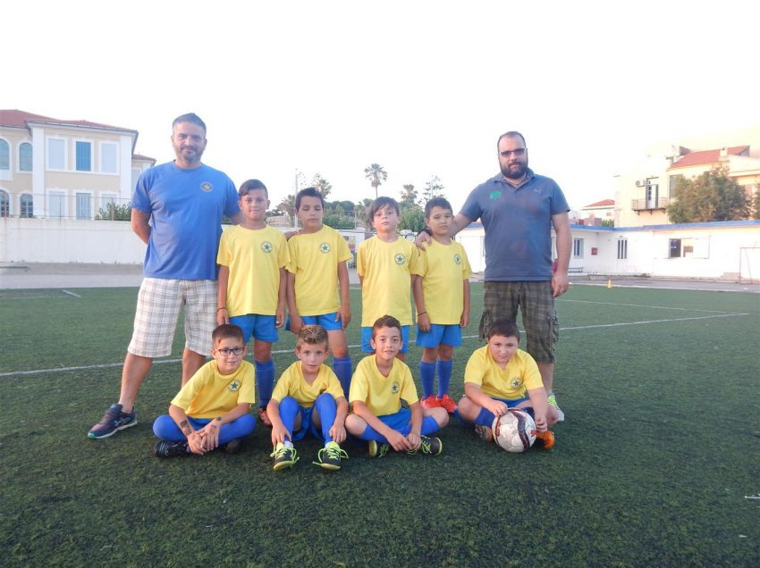 1ου Τουρνουά Ποδοσφαίρου Προτζούνιορ (2009-2010) 6×6