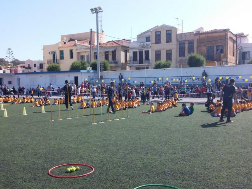 Ρέθυμνο: 2ο Φεστιβάλ Ποδοσφαίρου Νηπίων