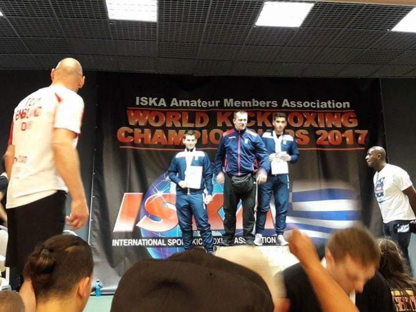 Παγκόσμιος πρώταθλητης kick boxing ο Τζωρτζινακης