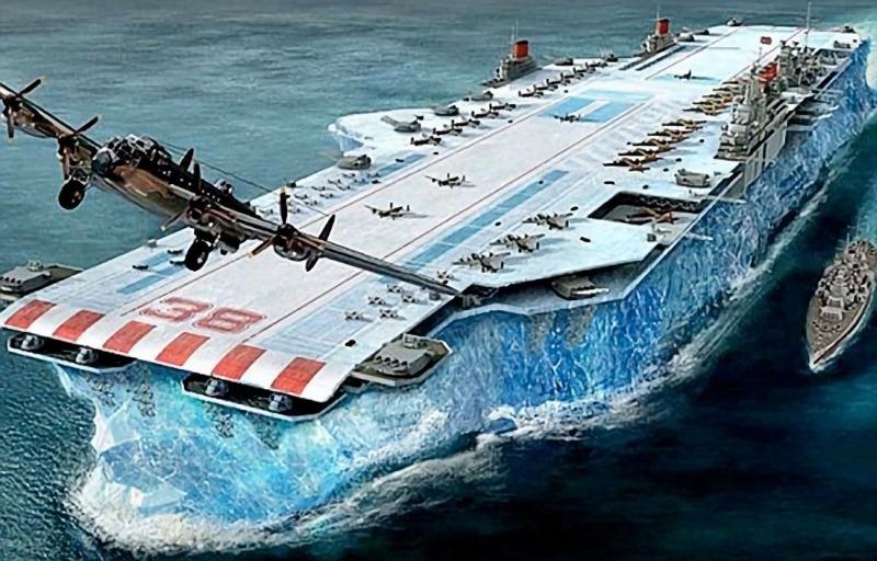 Το μυστικό αεροπλανοφόρο των Βρετανών από… πάγο