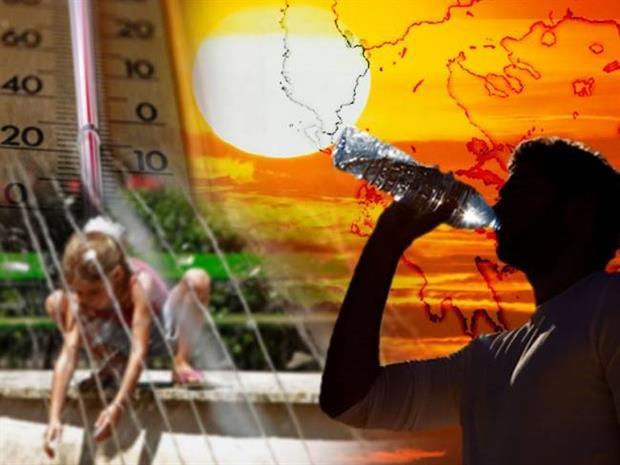 Αποτέλεσμα εικόνας για πολύ υψηλές θερμοκρασίες(καύσωνας)