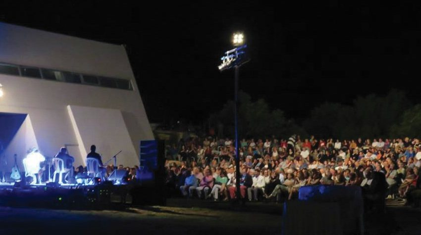 Μαγευτική η συναυλία κάτω από το φως της πανσελήνου