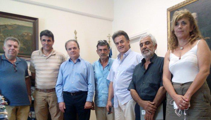 Φαράγγι Μύλων: Συνάντηση του τοπικού Συλλόγου με τον Δήμαρχο Ρεθύμνης