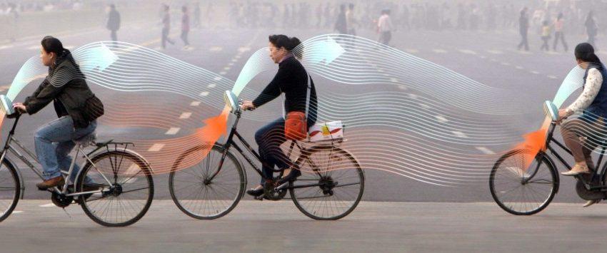 Στο μέλλον τα ποδήλατα θα καθαρίζουν τον αέρα στις πόλεις