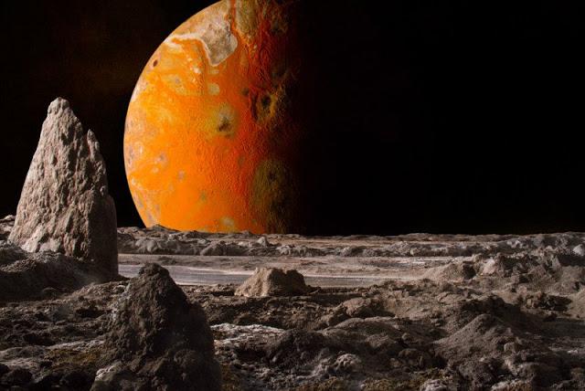 Φωτογράφος δημιουργεί ρεαλιστικές εικόνες πλανητών στο εργαστήριο