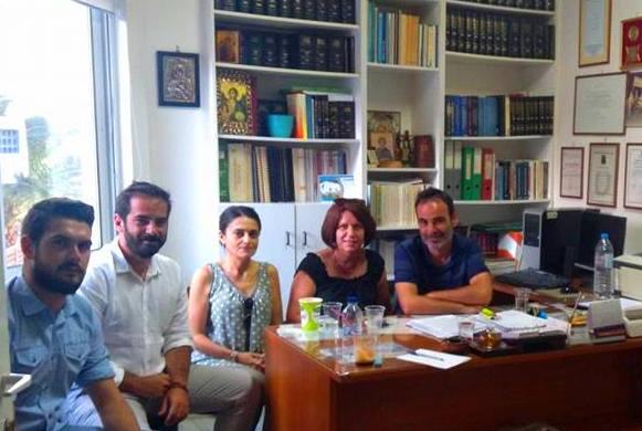 Συνάντηση PES Κρήτης με το Εργατικό Κέντρο Ρεθύμνου