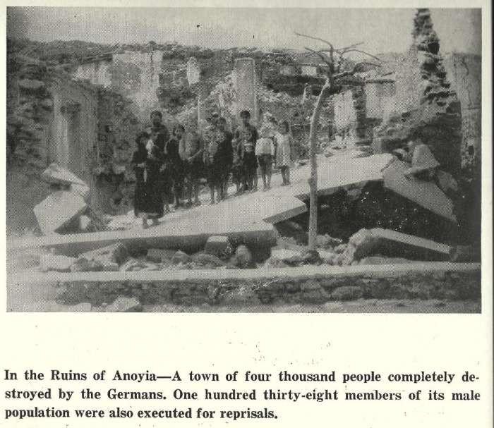 Συγκλονιστική φωτογραφία-ντοκουμέντο από το Ολοκαύτωμα των Ανωγείων
