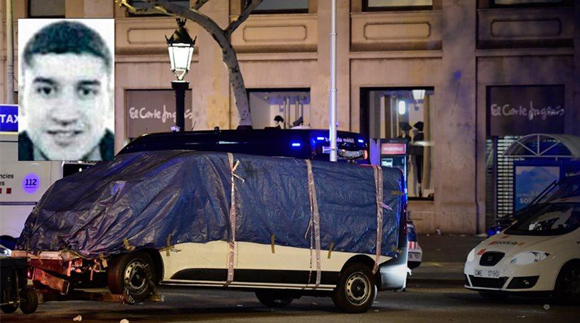 Νεκρός ο δράστης της επίθεσης στη Las Ramblas της Βαρκελώνης