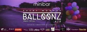 Balloonz party στο MiniBar