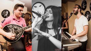 Η Κωνσταντίνα Μακρυδάκη στο μουσικό μεζεδοπωλείο Συμπληγάδες