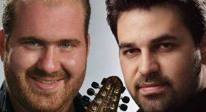 Ο Νίκος Σφακιανάκης και ο Μανώλης Σκουτέλης στο «Αλλού γι' Αλλού»